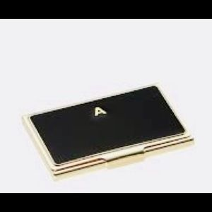 Kate spade one in a million monogram card holder
